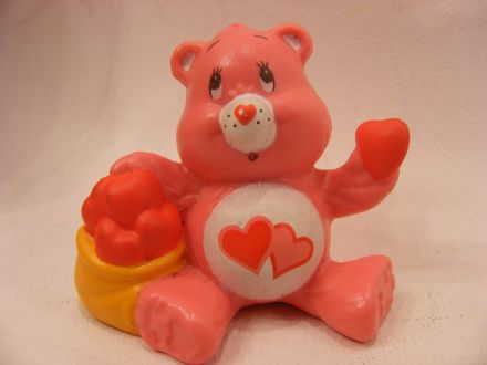VINTAGE LOVE-A-LOT CARE BEARS MINIATURE
